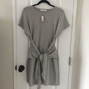 Waist-Tie T-Shirt Dress